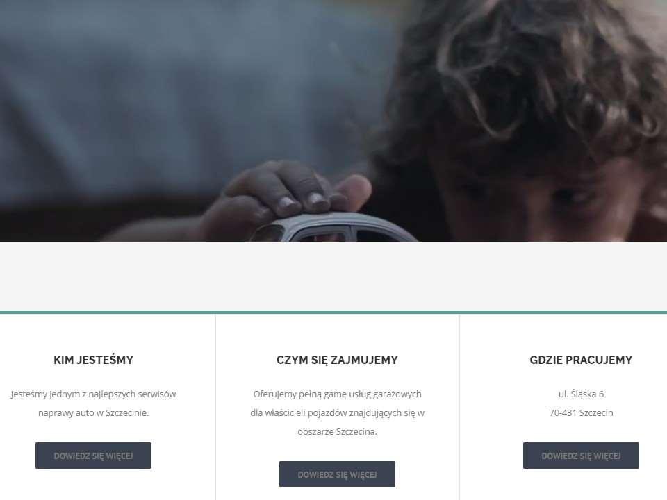 portfolio-strona-warsztatu-samochodowego