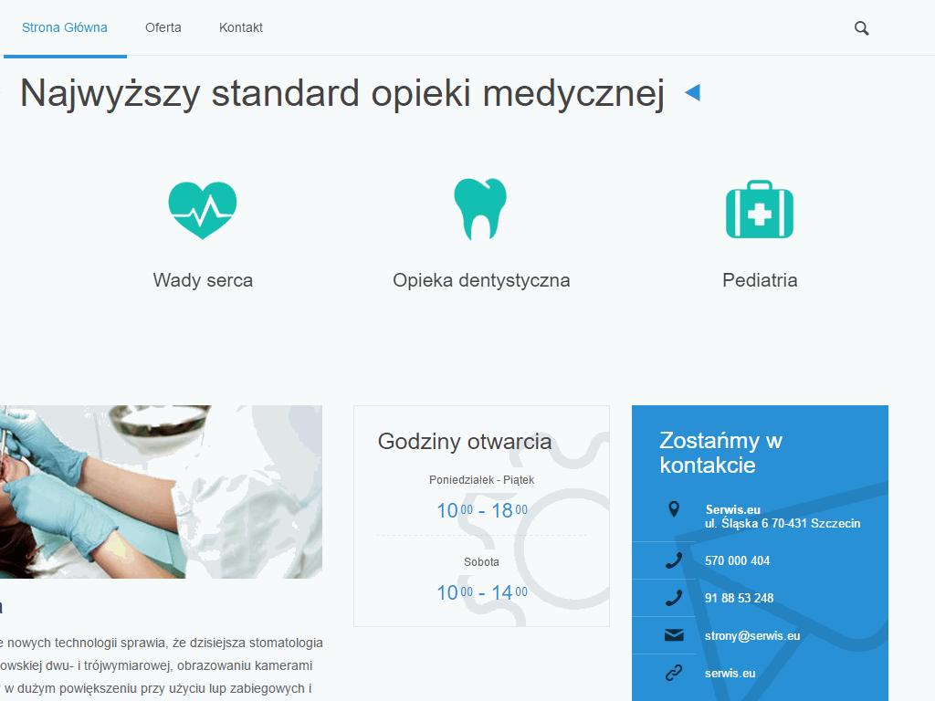 portfolio-responsywna-strona-gabinetu-lekarskiego