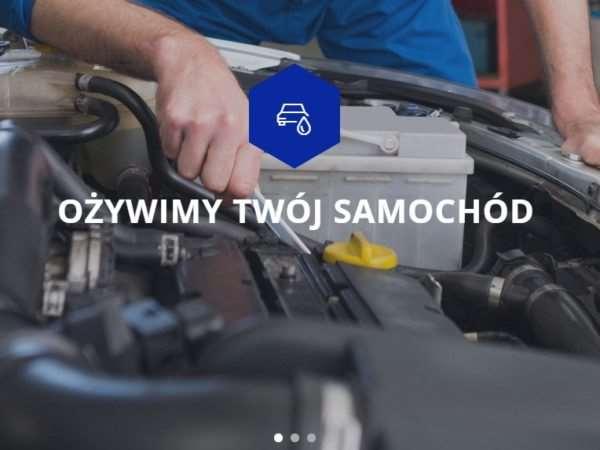 Strona internetowa warsztatu samochodowego