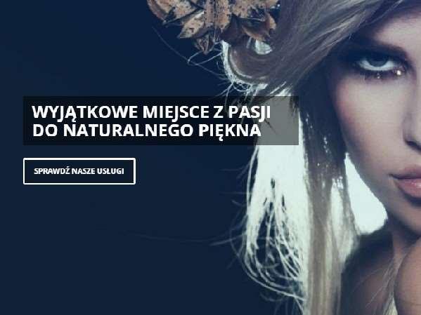 strona internetowa salonu urody