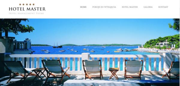 Przykładowa strona internetowa hotelu